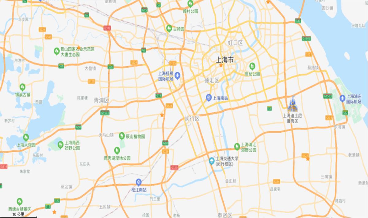 華東地区拠点マップ